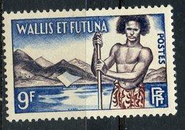 Wallis And Futuna 1957 9f Islander Issue #151  MH - Wallis And Futuna