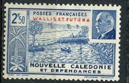Wallis And Futuna 1941 2.50f Petain Issue #93  MH - Wallis And Futuna