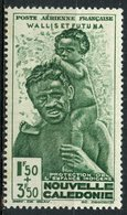 Wallis And Futuna 1942 1.50 + 3.50f Welfare Fund Issue #CB1  MH - Wallis And Futuna