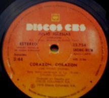 Dos Sencillos Argentinos De Julio Iglesias - Sonstige - Spanische Musik