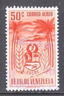 Venezuela  C 433   (o)  ARMS Of  SUCRE - Venezuela