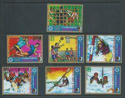 Equatorial Guinea 1972 Munich Summer Olympics Set 7 FU - Estate 1972: Monaco