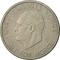 Norvège, Olav V, 5 Kroner, 1966, TTB, Copper-nickel, KM:412 - Norvège