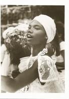 BRAZIL - Young Baiana. Bonfim Church. Candomblé. - Religions & Croyances