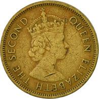 Hong Kong, Elizabeth II, 10 Cents, 1961, TTB, Nickel-brass, KM:28.1 - Hong Kong