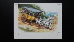 CAMBODGE / CAMBODIA/ S/S The Horses 1989   -Imperf- - Cambogia