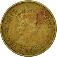 Hong Kong, Elizabeth II, 10 Cents, 1974, TB+, Nickel-brass, KM:28.3 - Hong Kong