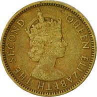 Hong Kong, Elizabeth II, 10 Cents, 1960, TTB, Nickel-brass, KM:28.1 - Hong Kong