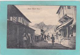 Small Postcard Of Street Scene & Bazar Mount Aboo Abu.India,Q91. - India