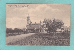 Small Postcard Of Mayo College Building,Ajmer, Rajasthan, India,Q91. - India