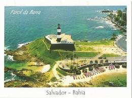 BRAZIL - Barra's Lighthouse, Salvador Bahia. Buildings, City, Architecture. - Phares
