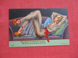 Risque Linen Ref 2842 - Pin-Ups