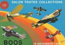 76 - BOOS - 13ème Salon Toutes Collections 19 Novembre 1995 - Francia