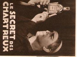 Mini  Fasicule Publicitaire (le Secret Des Chartreux A Grenoble) - Food