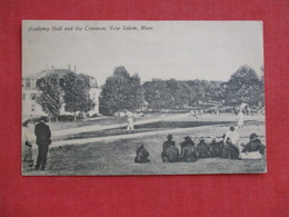 Baseball Stadium----  Academy Hall & Common New Salem Mass Ref 2843 - Baseball