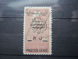 VEND BEAU TIMBRE DE SYRIE N° 289 , XX !!! - Unused Stamps