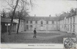 SEINE Et MARNE-Luzancy Le Château Cour D'Honneur -MO - France