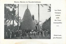 Missions Maristes De Nouvelle Calédonie - Cases Remarquables - St Saint-Louis Près Nouméa - Nouvelle-Calédonie
