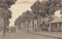 LANDRECIES -avenue De La Gare,coté Droit - Ed. A Breger - Landrecies