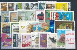 Österreich €- Nominale Lot    -nettes Lot   (oo1315  ) Siehe Scan - 1945-.... 2ème République