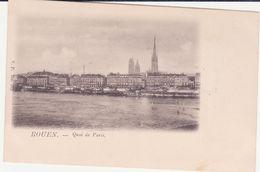 CPA - ROUEN - Quai De Paris - Rouen