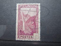 VEND BEAU TIMBRE DE LA REUNION N° 125 , LILAS , XX !!! - Réunion (1852-1975)