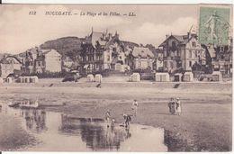 CPA - 152. HOULGATE - La Plage Et Les Villas - Houlgate