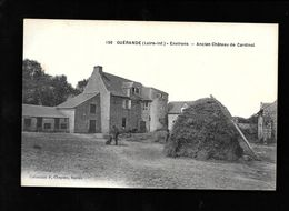 Guérande..(Loire-Inf)...environs...ancien Chateau De Cardinal....animée..1918.. - Guérande
