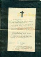 BRESCIA-CONTESSA BARBARA VALOTTI FENAROLI- 1905-AFFRANCATA COL 2 CENT. - Avvisi Di Necrologio