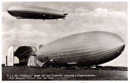 Der Neue Riesen - Zepplin L. Z. 129 - Hindenburg Landet Auf Dem Flughafen Löwenthal - Nazi - Svastika - Dirigibili