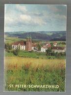 Régionalisme, Allemagne ,St. Peter / Schwarzwald , Bade Wurtemberg , 15 Pages, 1952 , 3 Scans , Frais Fr :1.75 E - Guides Touristiques