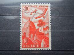 VEND BEAU TIMBRE DE POSTE AERIENNE D ' ALGERIE N° 11 , XX !!! - Algeria (1924-1962)