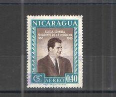 Nicaragua PA 1957 Presidente Somoza  Scott.C390+See Scans  NuoviUsati  In Scott.Album - Nicaragua