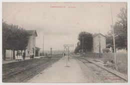 CPA TANTONVILLE La Gare - Other Municipalities