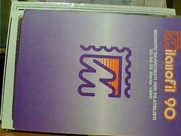 MILANOFIL 90,incontri Ravvicinati Per Filatelisti 23-24-25 Mar.1990  N1990  GO21804 - Borse E Saloni Del Collezionismo