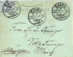 STATIONERY 1897 - Egypt