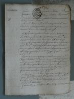 Generalité D'Amiens 07 10 1786 , 2 Sols 4 Deniers  , Licitation. TTB - Seals Of Generality