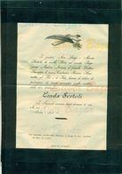 SONDRIO-LINDA SERTOLI--AFFRANCATA COL 2 CENT. - Avvisi Di Necrologio