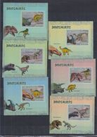 H62. MNH Mozambique Nature Animals Prehistoric Animals Dinosaurs Imperf - Prehistorics