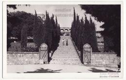 GREECE, RHODES, STAIRWAY TO FILERIMOS HILL, C1950s Vintage Real Photo Postcard RPPC, RODOS, RHODOS - Greece