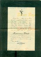 SONDRIO-FRANCESCO VITALI- 1903--AFFRANCATA COL 2 CENT. - Avvisi Di Necrologio