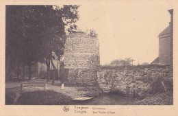 TONGRES / TONGEREN : Vieille Tour De La Porte De Liège Et Enceinte Du Moyen-âge - België