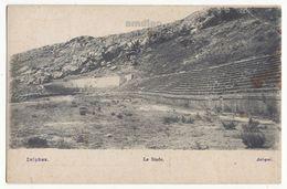 GREECE, DELPHI ARCHAELOGICAL SITE - THE STADIUM - 1910s Vintage Postcard - Greece