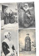 10532 - Lot De 10 CPA , Folklore, Bretagne, - Postkaarten