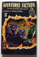 No PAYPAL !! : AVENTURES FICTION 8 Bête à Deux Têtes ,Dernière Déesse ,Les Robots ,BD Petit Format Éo Artima Arédit 1968 - Aventures Fiction