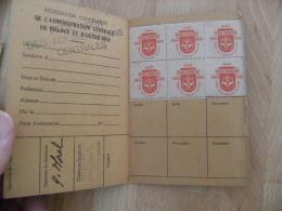 Cgt Force Ouvriere Carnet Vignette Timbre Erinnophilie 1948 - Commemorative Labels