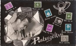 Nederland - Postzegeltaal - Ongebruikt/mint - Zwart/wit - Postzegels (afbeeldingen)
