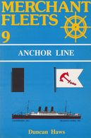 MERCHANT FLEETS N°9 ANCHOR LINE DE DUNCAN HAWS ED. TCL - Livres, BD, Revues