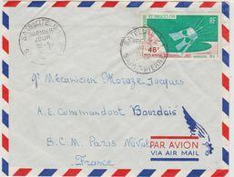 Saint Pierre Et Miquelon FDC 1966 Satellite D1 PA35 - FDC