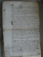 Généralité D'Amiens, 26 04 1786 ,  2 Sols 4 Deniers , Beau Filigrane Royal  . TTB . - Seals Of Generality